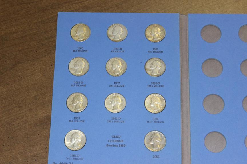 Auction Ohio | Silver Quarters