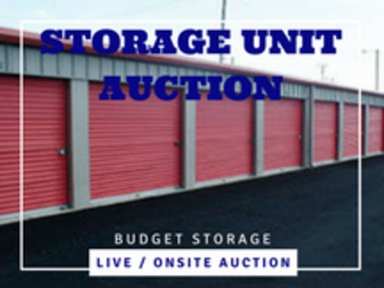 Auction Ohio Live Storage Unit Auction