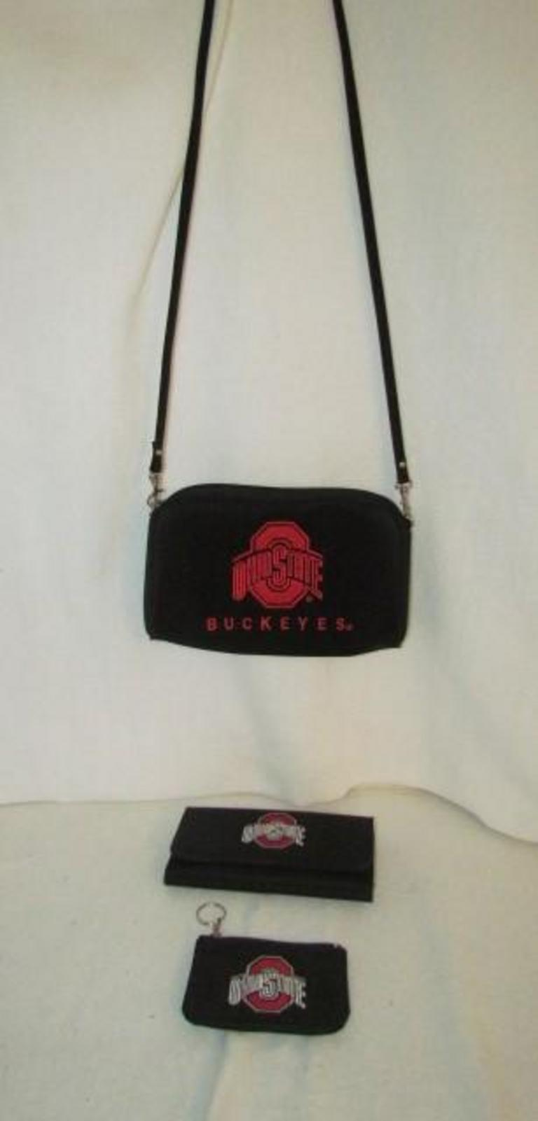 1fd1afc755 Lot   62 - Ohio State Purse and Wallets