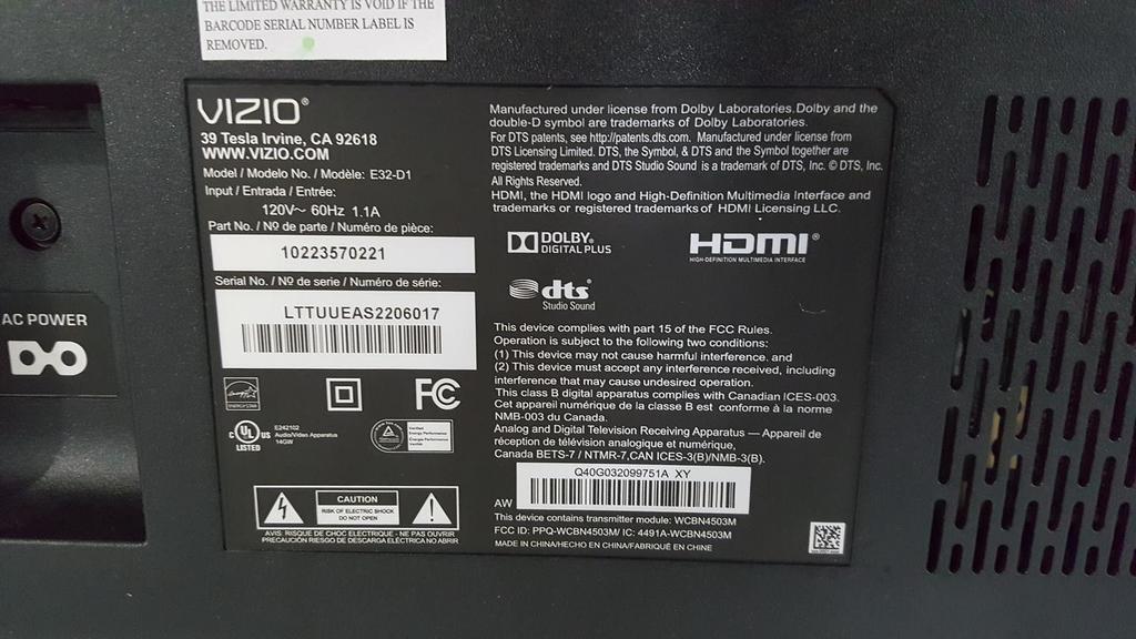Electronics 4k Tvs Soundbar Antenna Bluetooth
