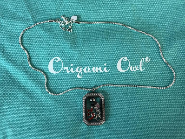 NEW Origami Owl Halloween Candy Apple Charm
