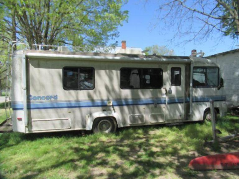 Auction Ohio | Concord Rexhall Motor Home