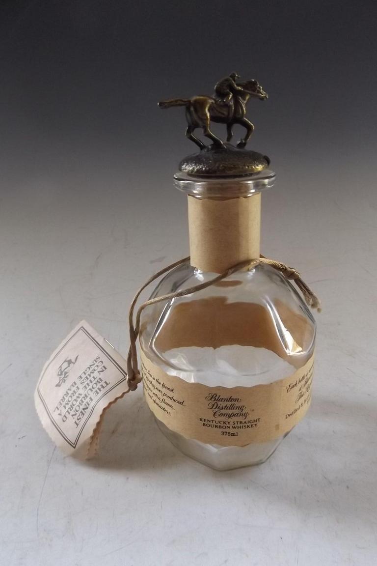 Auction Ohio   Blanton's Bourbon Bottle