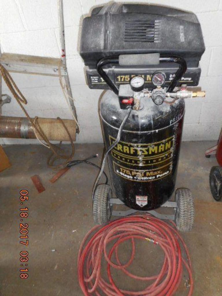 Auction Ohio Craftsman Pro Compressor