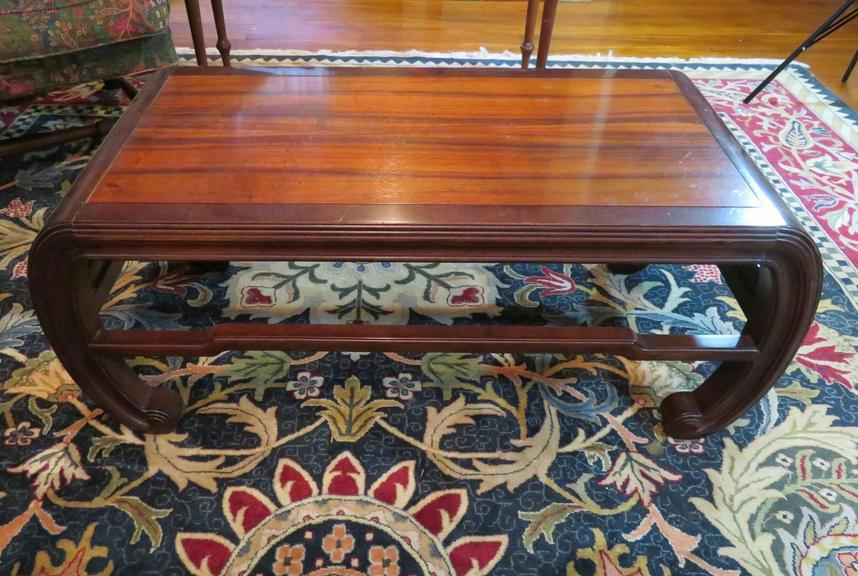 Outstanding Auction Ohio Henredon Table Andrewgaddart Wooden Chair Designs For Living Room Andrewgaddartcom
