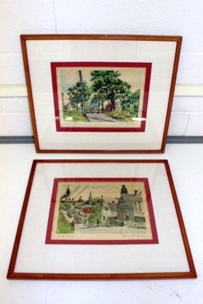 Auction Ohio   Artist Signed Prints