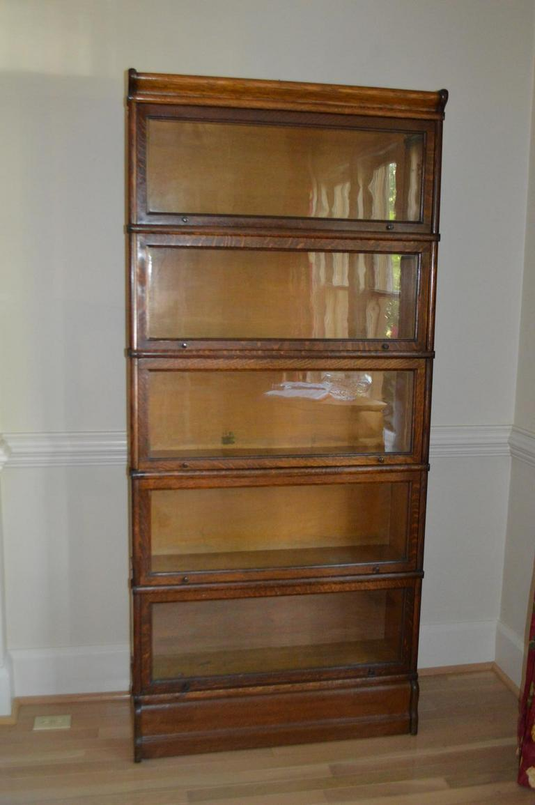 Auction Ohio Antique Barrister Bookcase
