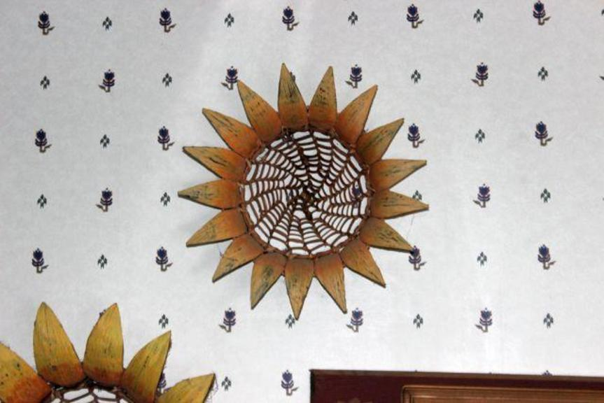 Faux Sunflower Arrangement