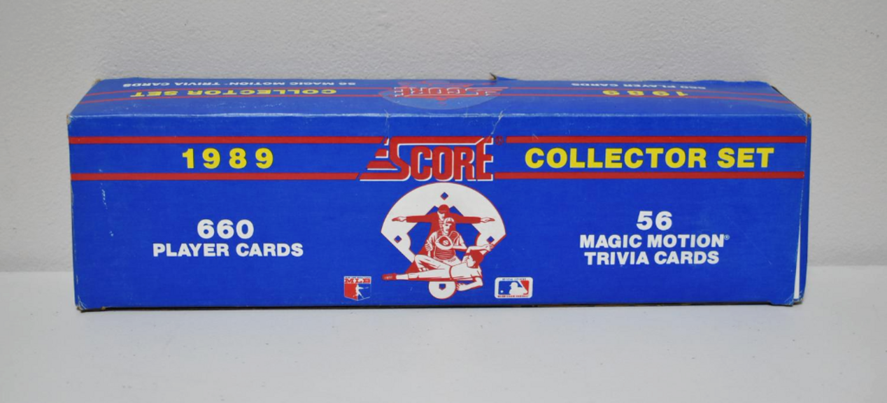 Auction Ohio 1989 Score Baseball Set