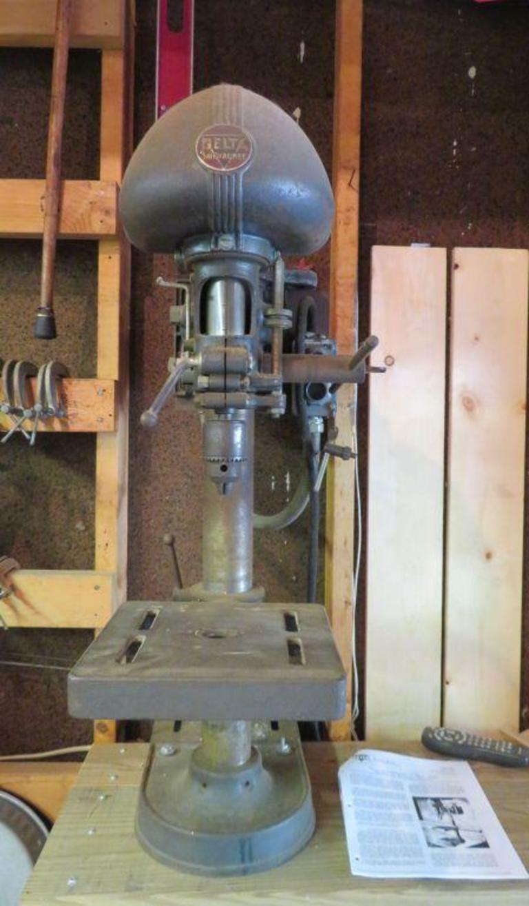 Auction Ohio | Delta Rockwell Drill Press