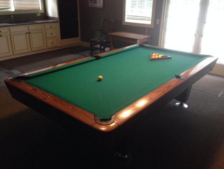 Remarkable Auction Ohio Diamond Billiards Table Home Remodeling Inspirations Gresiscottssportslandcom