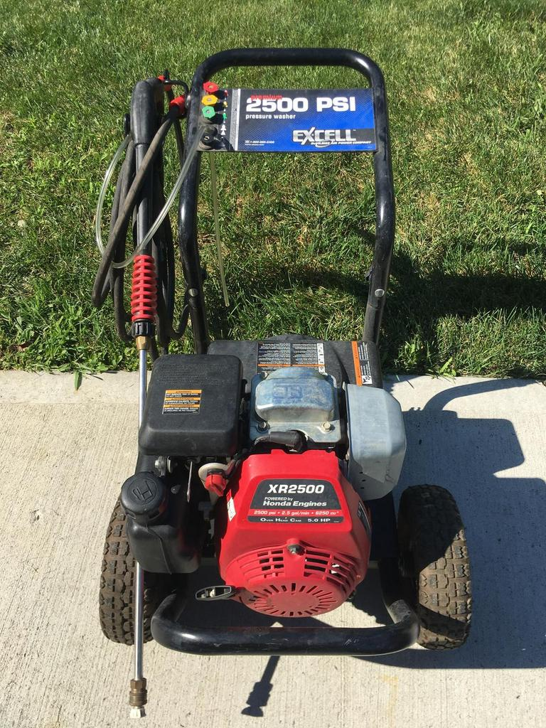 auction ohio excell powerwasher 2500