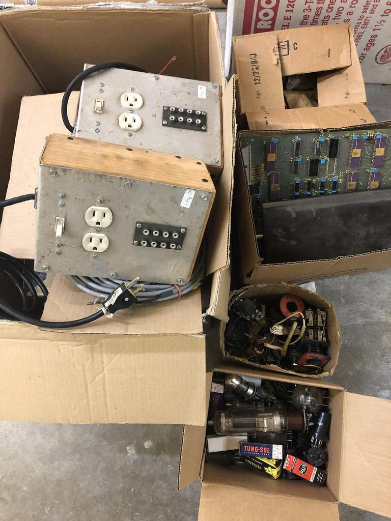 Auction Ohio | Vintage Electronics on tube dimensions, tube terminals, tube fuses, tube assembly,