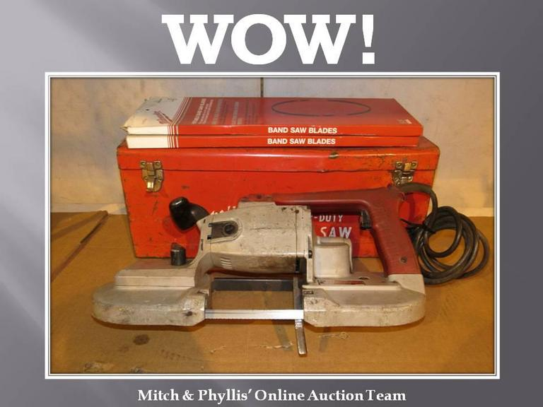 Portable Milwaukee Band Saw
