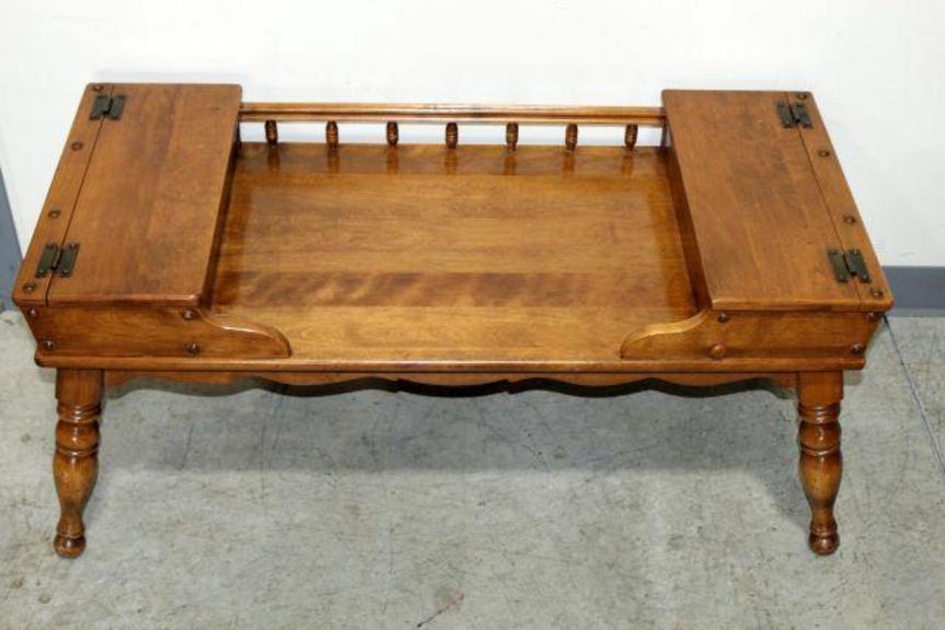 Auction Ohio Ethan Allen Coffee Table