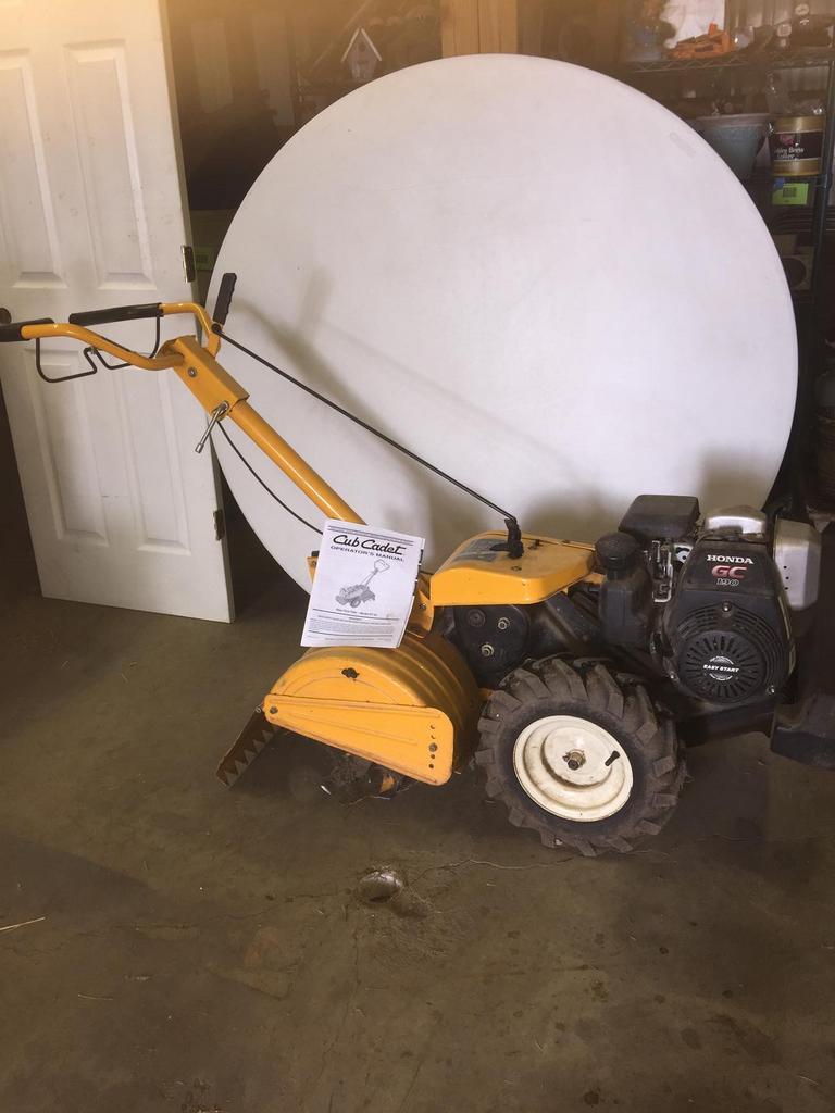 Auction Ohio | Rear tine tiller